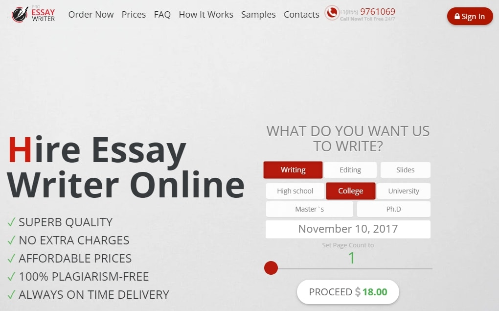 Pro-Essay-Writer.com review